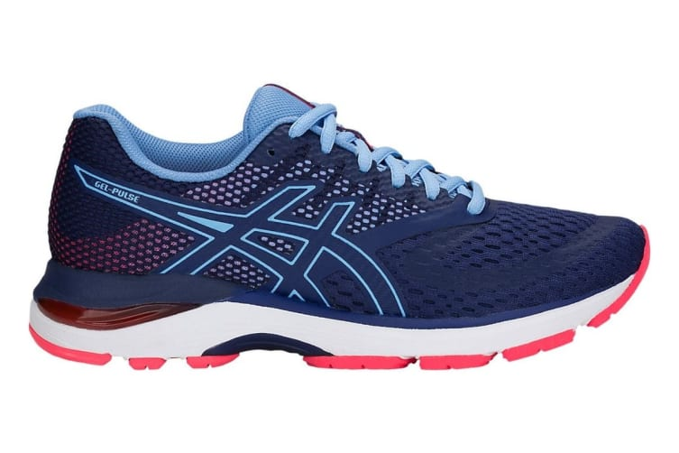 ASICS Women's Gel-Pulse 10 Running Shoe (Blue Print, Size 7.5)