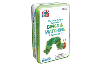 The Very Hungry Caterpillar Bingo & Matching Tin Game
