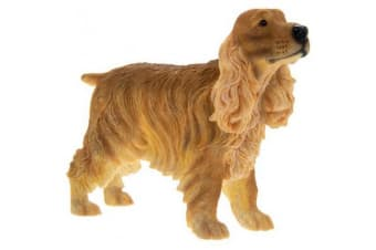 Brown Cocker Spaniel Figurine (Brown)
