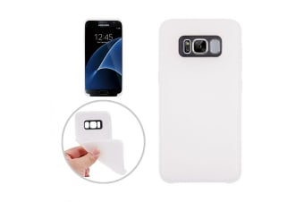 For Samsung Galaxy S8 Case Smooth Classic Slim Durable Protective Cover White