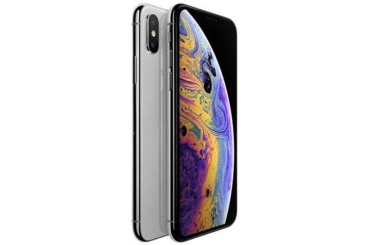 New Apple iPhone XS 256GB 4G LTE Silver (FREE DELIVERY + 1 YEAR AU WARRANTY)
