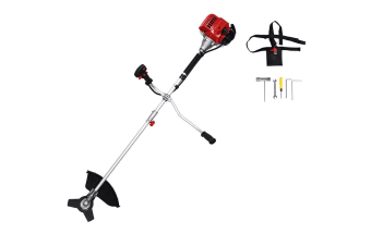 Kuller Grass Trimmer Brush Cutter - Petrol 4 Stroke Engine, Portable Garden Tool