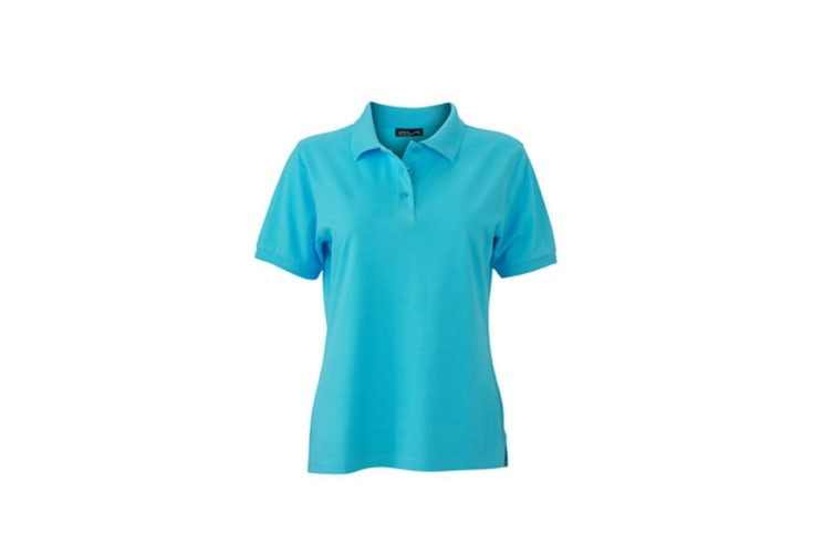 James and Nicholson Womens/Ladies Classic Polo (Pacific Blue) (S)