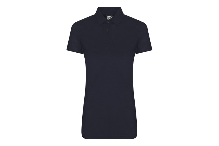 Pro RTX Womens/Ladies Pro Polyester Polo (Navy) (M)