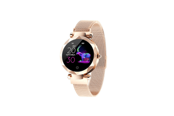 Women's Intelligent Watch Heart Rate and Blood Pressure Monitoring Watch  ROSE GOLD
