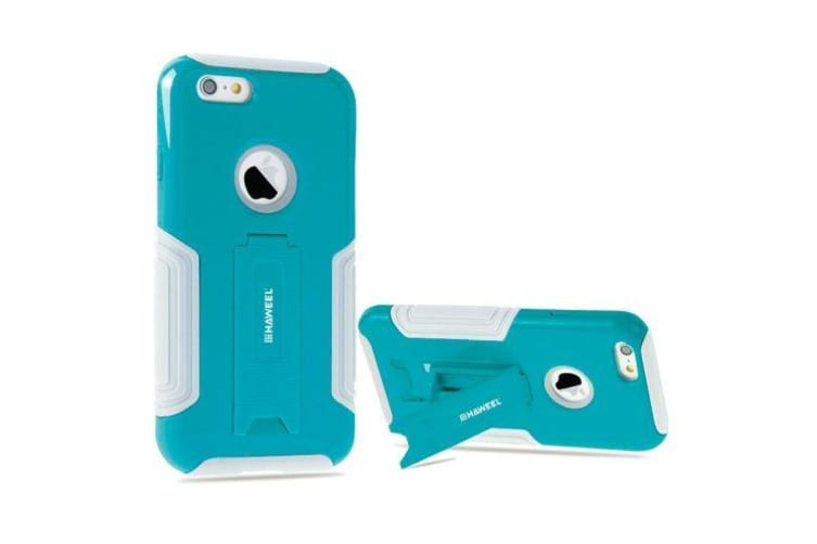 For iPhone 6S 6 Case HAWEEL High-Quality Dual Layer Protective Cover Baby Blue