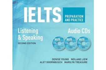 IELTS Preparation & Practice Speaking&listening Audio CD