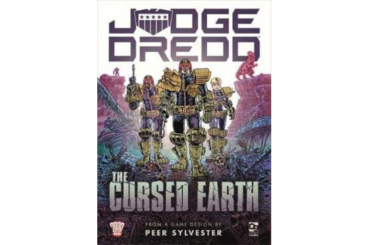 Judge Dredd: The Cursed Earth - An Expedition Game