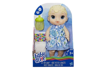 Baby Alive Lil' Sips Baby Blonde Sculpted Hair