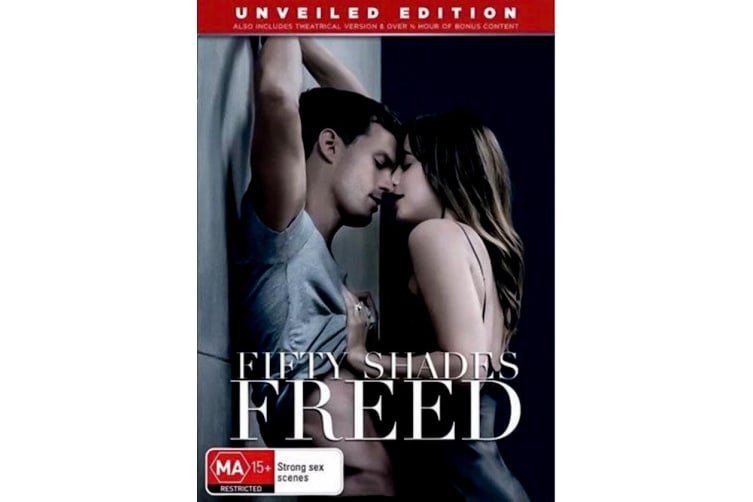 Fifty Shades Freed - Region 4 Rare- Aus Stock DVD PREOWNED: DISC LIKE NEW