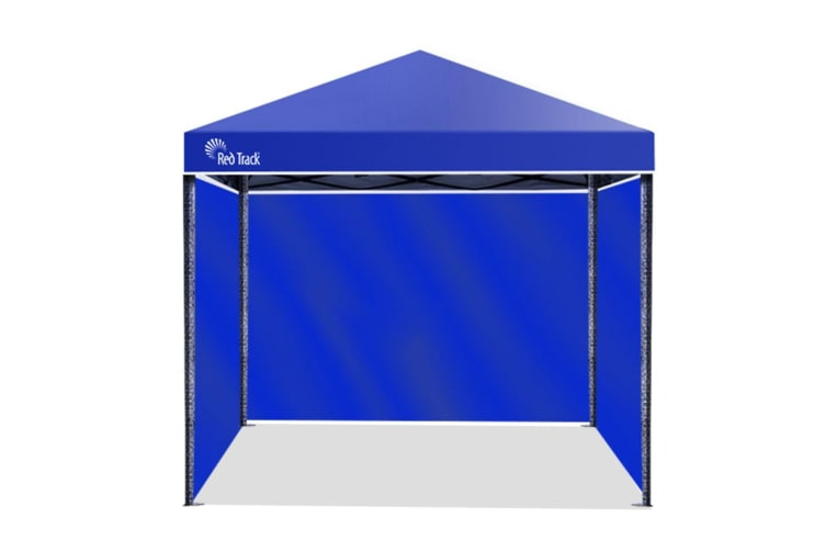 Red Track 3x3m Folding Gazebo Shade Outdoor Pop-Up Navy Foldable Marquee