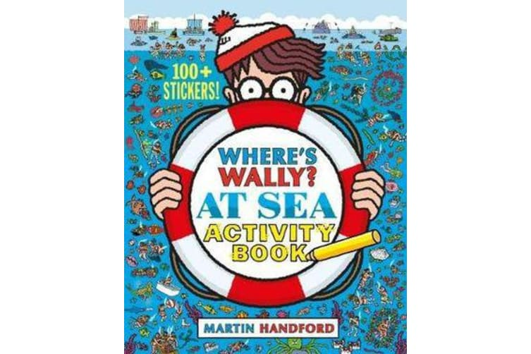 Where's Wally? At Sea - Activity Book