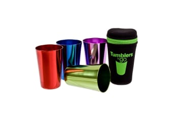 Tumblers To Go Cup Retro Portable Neoprene Anodised Cups Camping Tumbler