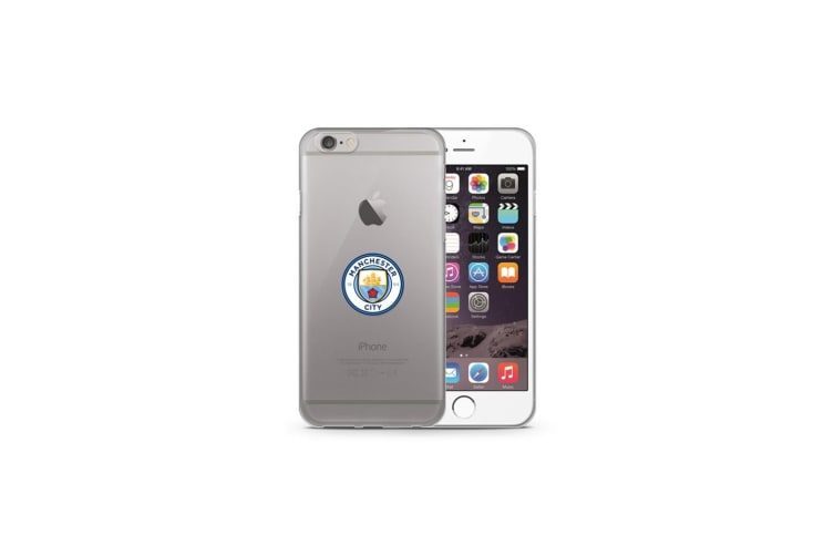 Manchester City FC iPhone 7/8 TPU Case (Clear) (One Size)