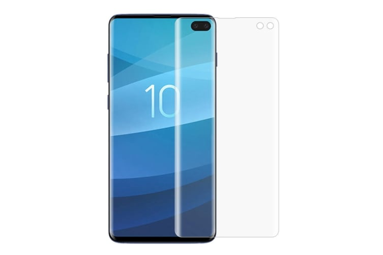 For Samsung Galaxy S10+ PLUS 2-pack Curved 3D PET Shielding Screen Protector