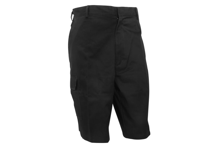 Dickies Redhawk Cargo Shorts / Mens Workwear (Black) (30inch)