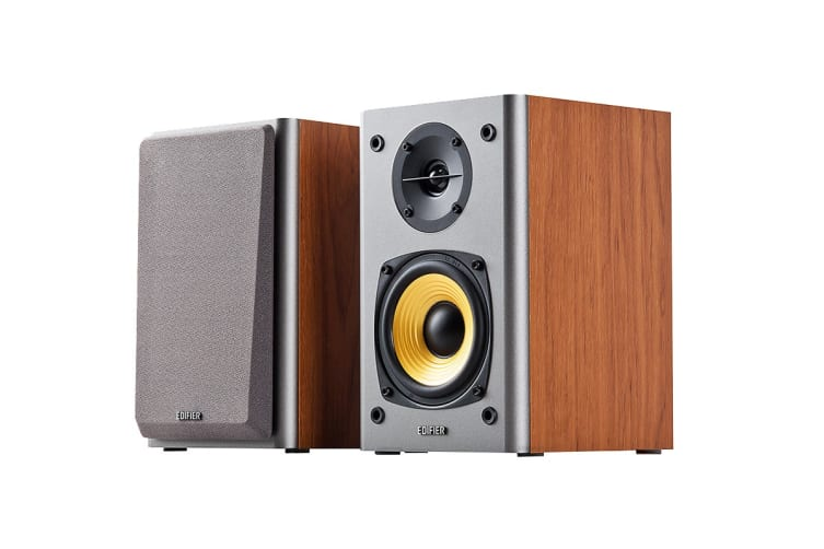 Edifier Ultra-Stylish Active Bookself Speaker - Brown (R1000T4)