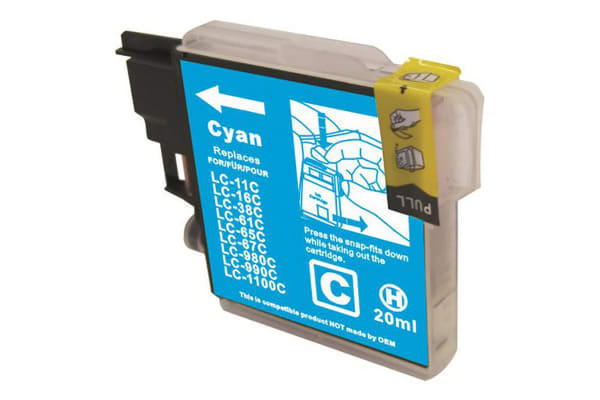 LC38 LC67 Cyan Compatible Inkjet Cartridge