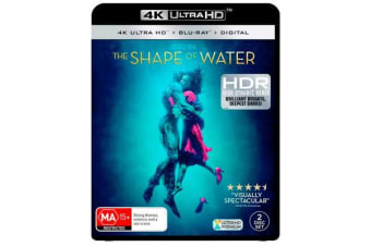 The Shape of Water (4K UHD/Blu-ray/Digital Copy)