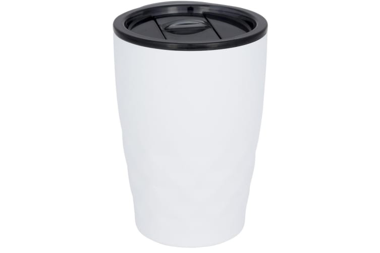 Avenue Geo Insulated Tumbler (Pack of 2) (White) (12 x 8.5 cm)