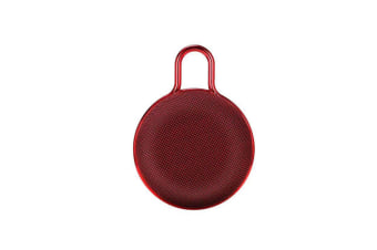 Mini Bluetooth Speaker Portable Subwoofer Sound for Outdoor Sports  RED