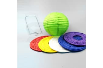"12"" Paper Lanterns for Wedding Party Festival Decoration - Mix and Match Colours  -  VoiletNo"