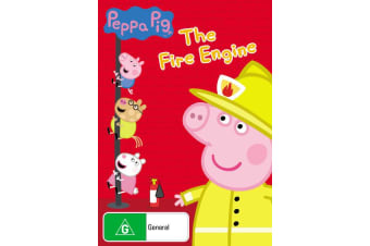 Peppa Pig The Fire Engine and Other Stories DVD Region 4