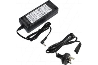 100-240VAC to 24VDC 5A 120W Switchmode Power Supply with 2.1mm Right Angle DC Plug