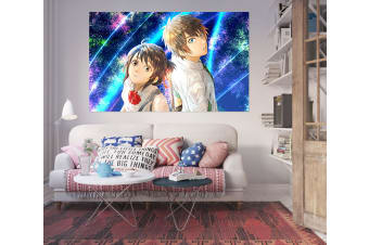 3D Your Name 21 Anime Wall Stickers Self-adhesive Vinyl, 110cm x 110cm(43.3'' x 43.3'') (WxH)