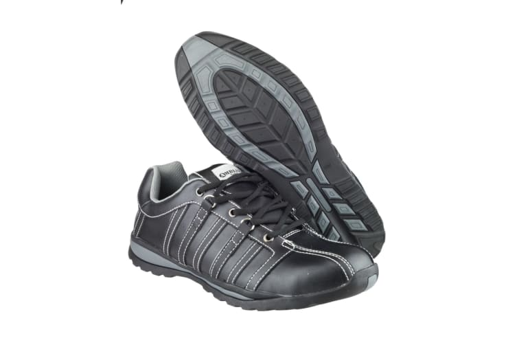Amblers Steel FS50 Safety Trainer / Womens Ladies Shoes / Trainers Safety (Black) (4 UK)