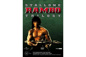 Rambo Trilogy DVD Region 4
