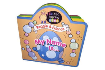 ABC Reading Eggs Puzzle Book - Reggie & Friends My Name is