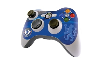 Chelsea FC Official Xbox 360 Controller Skin (Blue) (One Size)