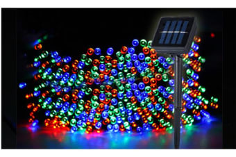 500LED 52m Solar Power Thicker String Light MULTICOLOR