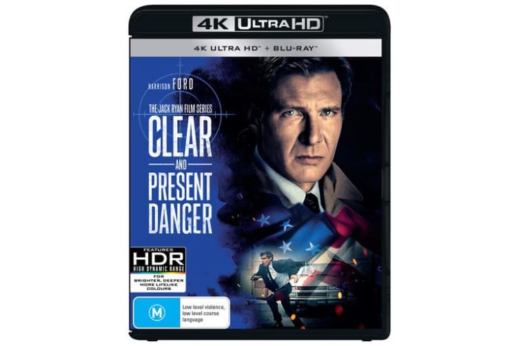 Clear and Present Danger 4K with Blu-ray UHD Region B