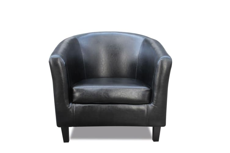 Prime Modern Tub Chair Faux Leather Sofa Black Andrewgaddart Wooden Chair Designs For Living Room Andrewgaddartcom