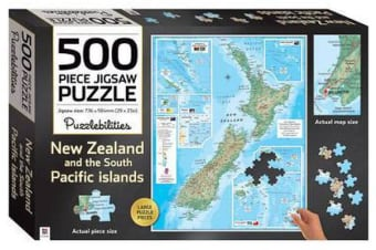 Puzzlebilities New Zealand - 500 Piece Jigsaw Puzzle