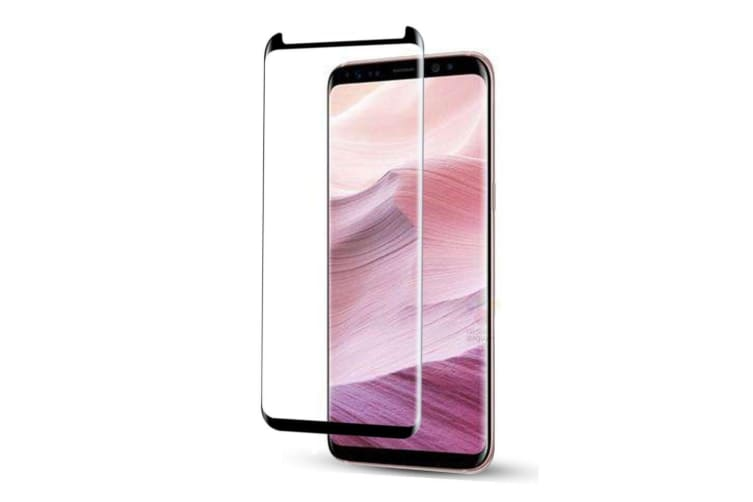 For Samsung Galaxy S8 3D Full Edge to Edge Tempered Glass Screen Protector