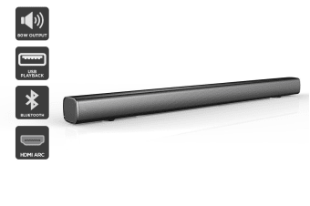 Kogan 2.1CH 80W Soundbar With Built-in Subwoofer