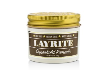Layrite Superhold Pomade (High Hold  Medium Shine  Water Soluble) 120g/4.25oz