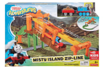 Thomas & Friends Adventures Misty Island Zip-Line Playset