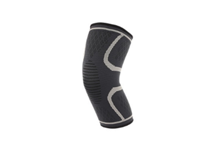 Male And Female Outdoor Sports Kneecap For Mountaineering Bodybuilding Grey L