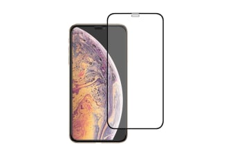 Tempered Glass Film Mobile Phone Protective Film For Iphone Xs Max Red