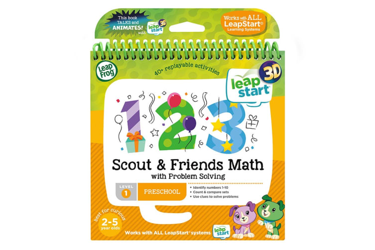 LeapFrog LeapStart Scout & Friends Math with Problem Solving - 3D Enhanced