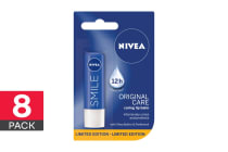 8-Pack Nivea Lip Original Care CompLIPments Limited Edition - 4.8g