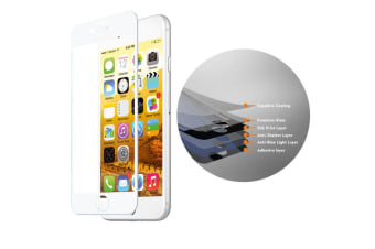 EFM WH TT Sapphire Tough Glass Screen Protector Guard for iPhone 8 7 7S 6S Plus
