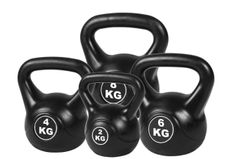 4pcs Exercise Kettle Bell Weight Set 20KG