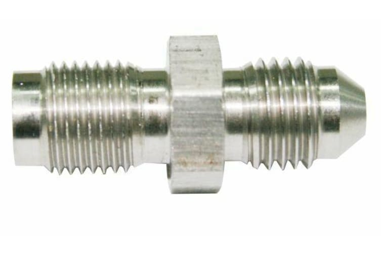 Aeroflow -3AN To Inverted 3/8 X 24 Stainless Male To Male Long