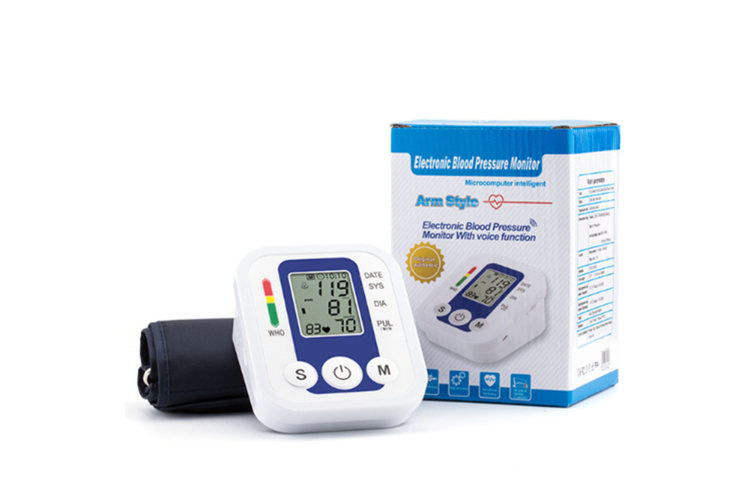 Blood Pressure Monitor with Large LCD Display&Adjustable Cuff for Home Use