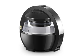 13L Maxkon LCD Air Fryer Oven Cooker - Black